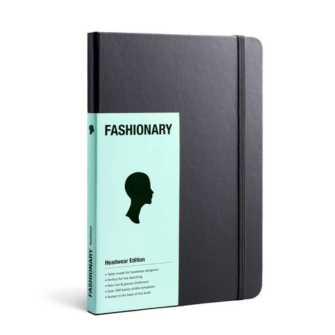 Fashionary Headwear Millinery Sketchbook