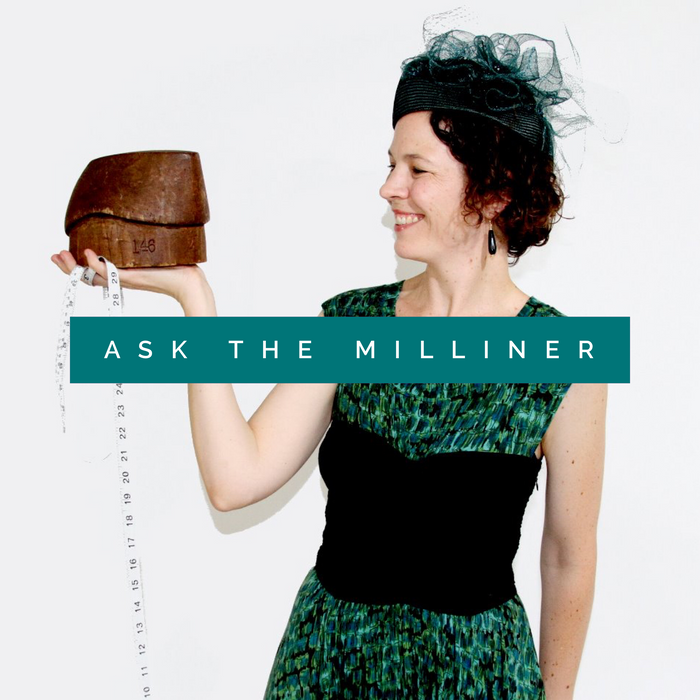 """Ask the Milliner"" Consultation"