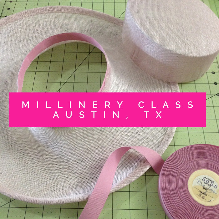 Fundamentals of Millinery: Perfecting Brim Edges