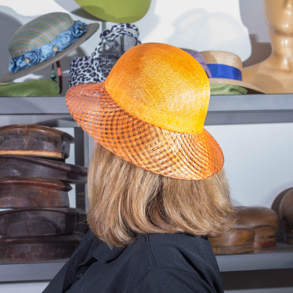 1-1 Private Windowpane Sinamay Hat Class