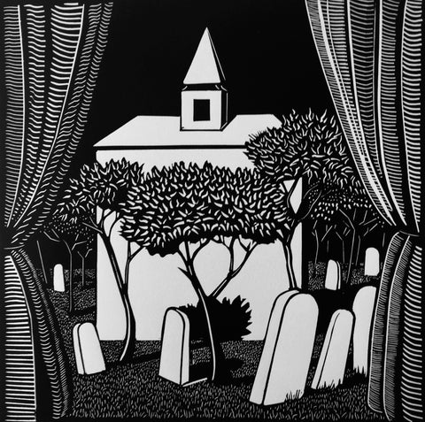 New lino prints available - 'Nocturnes' series