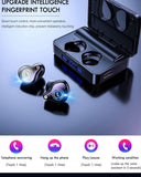 XS Plus True Wireless Bluetooth Earbuds With 3600mAh Charging Case