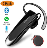 Link Dream Wireless Headset with Mic 24Hrs Talktime Hands-Free in-Ear Headphone