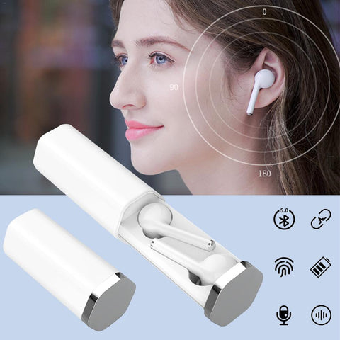 TW50 Wireless Touch Bluetooth Earbuds With Charger Box