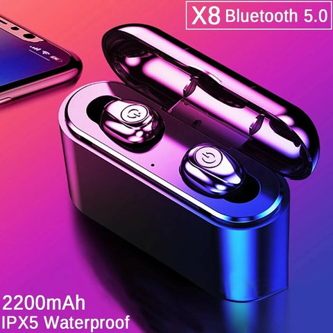 X8 GT1 True Wireless Bluetooth Earbuds with Charging Case