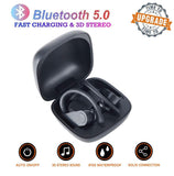 B10 Wireless Bluetooth Earphones - 9 Hours Of Listening Time - Black