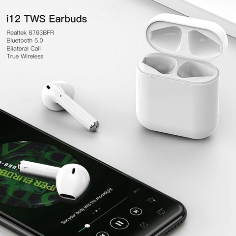 I12 Wireless Smart Touch Earbuds