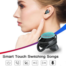 Load image into Gallery viewer, IPX7 TWS 5.0 Bluetooth 9D Stereo Earphone with Power Bank Phone charger