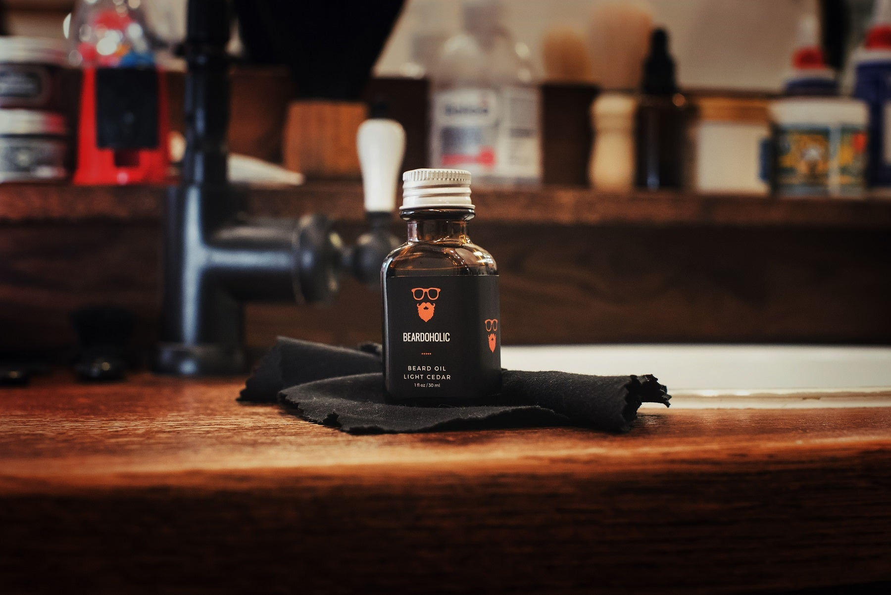 Beardoholic Beard Oil - Light Cedar