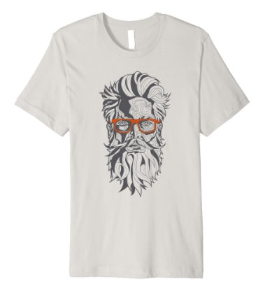 8. Mens Beardoholic T-shirt