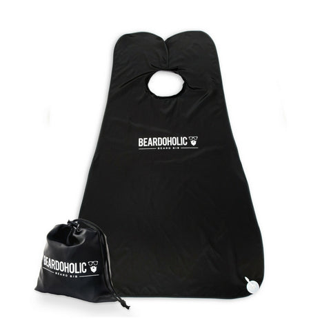 5. Beard Bib (Black/White)