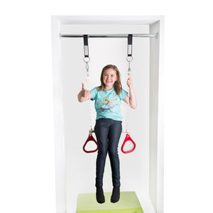 Doorway Kit: Red Combo and Blue Therapy Sensory Swing - DreamGYM