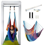 Doorway Therapy Net Swing - Rainbow - DreamGYM