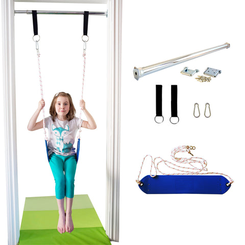 Doorway Belt Swing - Blue - DreamGYM
