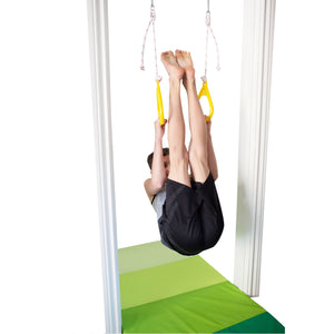 Gymnastics Rings for Kids - Yellow - DreamGYM