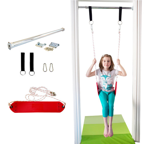 Doorway Belt Swing - Red - DreamGYM