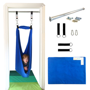 Doorway Therapy Sensory Swing - Blue - DreamGYM