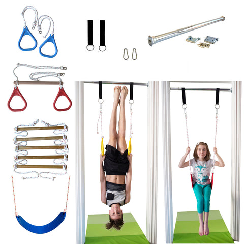 DreamGYM Indoor Swing and Gym with 4 accessories - DreamGYM