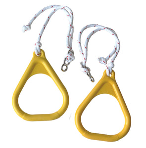 Gymnastics Rings for Kids - Yellow