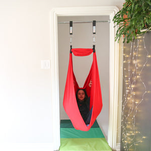 Doorway Kit: Blue Combo and Red Therapy Sensory Swing - DreamGYM