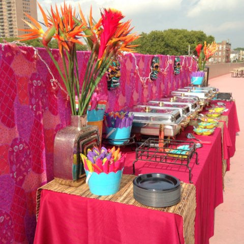 Luau Party - Hawaiian Style Buffet