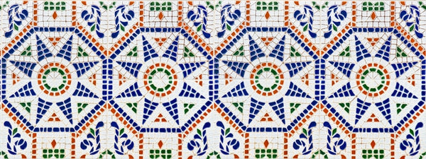 Spanish Tile, 15 Stairs
