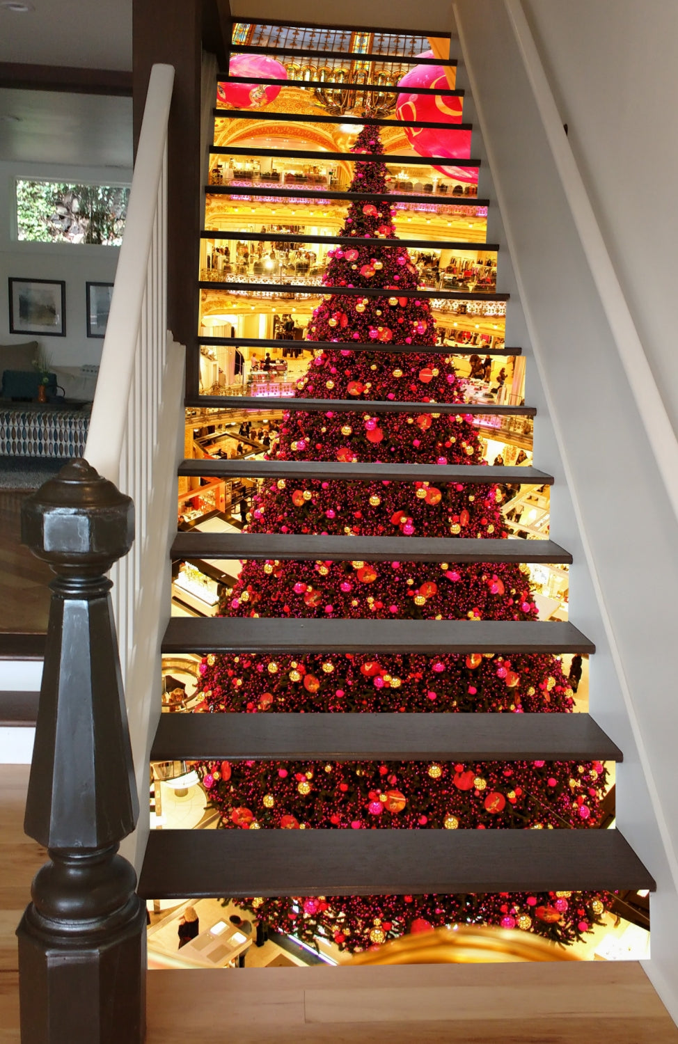 Christmas in Paris, 15 Stairs