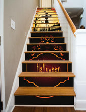 Load image into Gallery viewer, Halloween Scarecrow, 16 Stairs