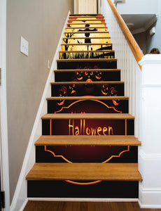 Halloween Scarecrow, 15 Stairs