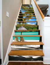 Load image into Gallery viewer, Paradise Painted Stairway, 15 Stairs