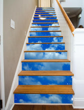 Load image into Gallery viewer, Starry Night Painted Stairway, 15 Stairs