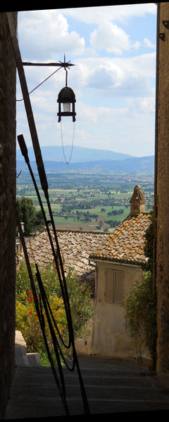 A View from Assisi, Italy