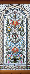 Stained Glass - Flowers