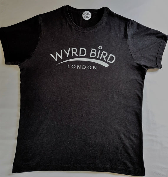 Wyrd Bird London - Black graphic - limited edition