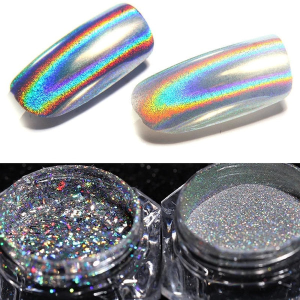 Holographic Pigment Chrome
