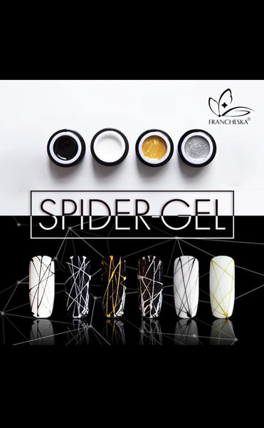 Spider Art Nail Gel