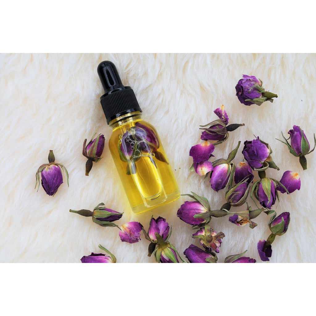 Hand Made Organic Rose Cuticle Oil Dropper