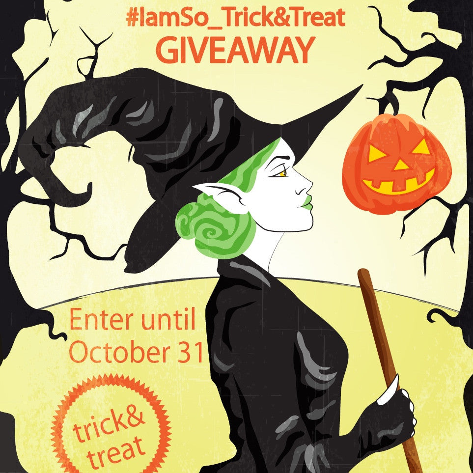#iamso_trickandtreat GIVEAWAY