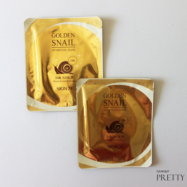 SKIN79 Golden Snail Hydro Gel Mask 24K Gold
