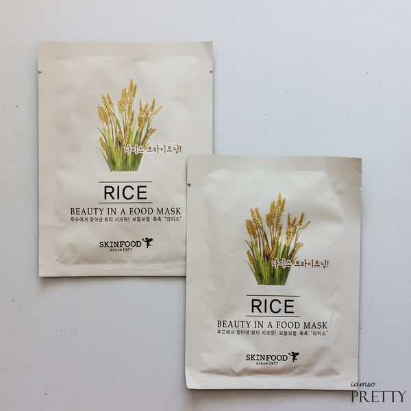 SKINFOOD Beauty In A Food Mask Sheet | Rice