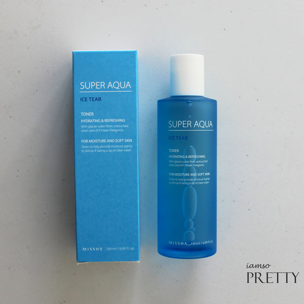 MISSHA Super Aqua Ice Tear Toner (180ml)