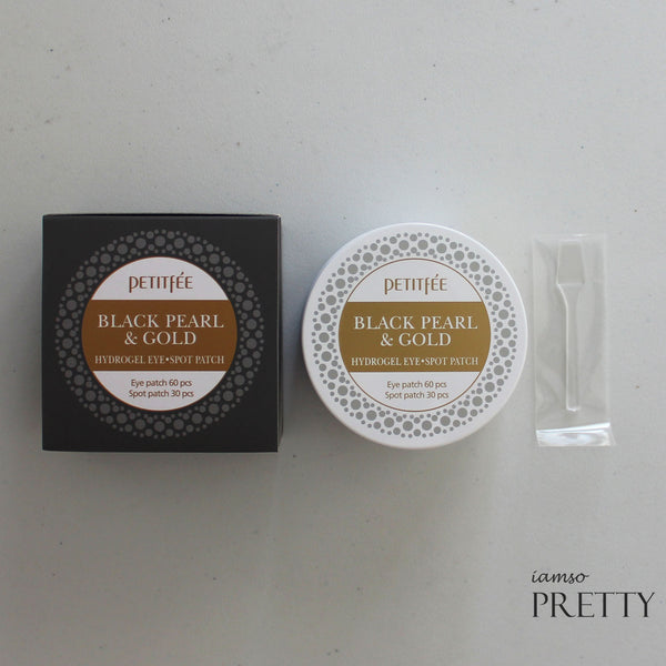 PETITFEE Black Pearl & Gold Hydrogel Eye Spot Patch (90pcs)