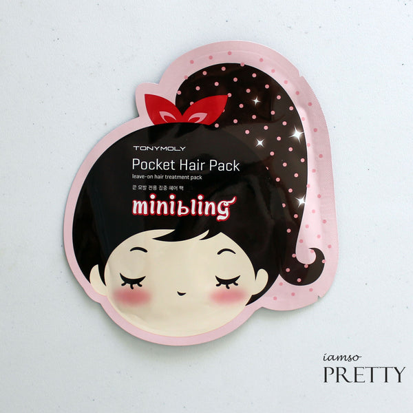 TONYMOLY Minibling Pocket Hair Pack