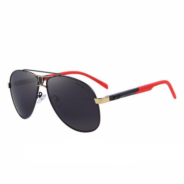FL Classic Polarized Black lens and Red frame - Fashlabz Canada