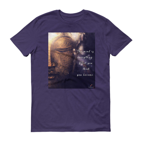 FL Buddha Quote T-Shirt Short Sleeve - Fashlabz Canada