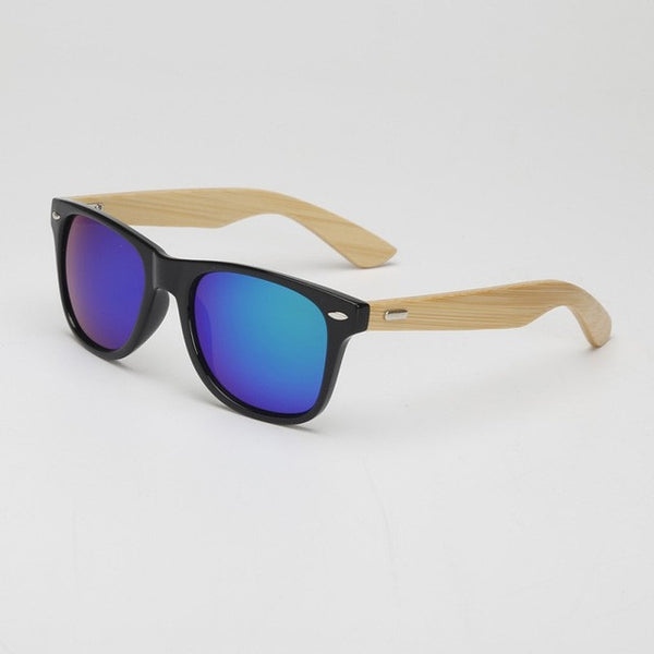 FL Bamboo Sunglasses Wooden Men 13 Variants - Fashlabz Canada