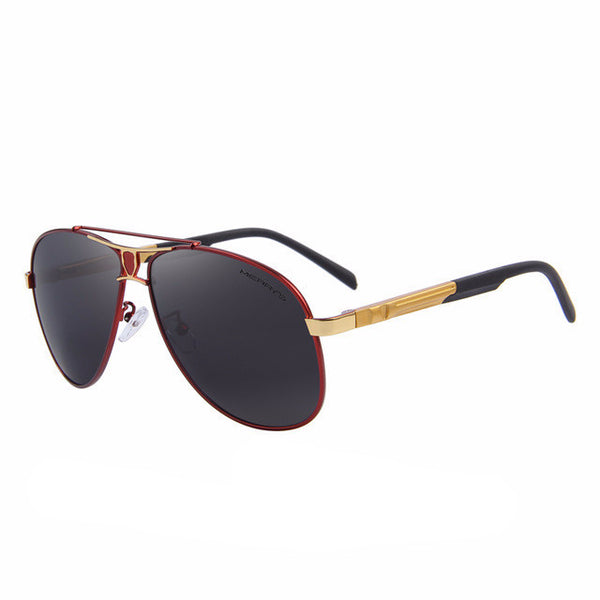 FL Classic Polarized Black lens and Gold frame - Fashlabz Canada