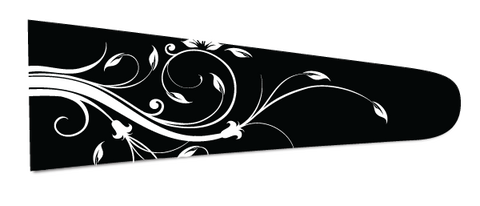 Floral (Black/White) - Upscale Eyes