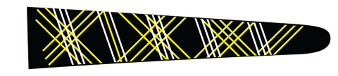 Lines (Black/Yellow) - Upscale Eyes