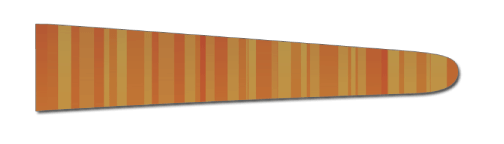 Stripes (Gold/Orange) - Upscale Eyes